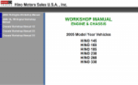 repair manual Hino Workshop Manual 2005