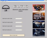 spare parts catalog Man Eltis