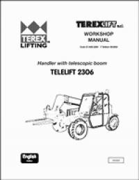 spare parts catalog repair manual Terex Lifts