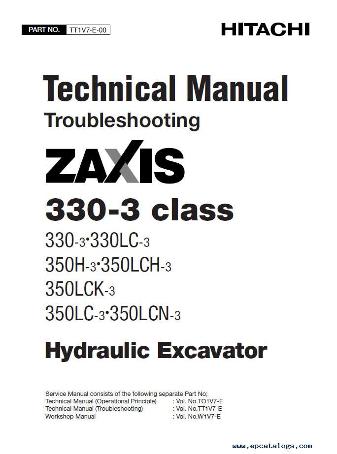Hitachi Zaxis 330
