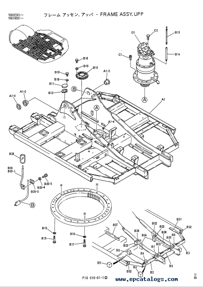 kobelco sk200 sk200lc mark v excavators parts manual pdf