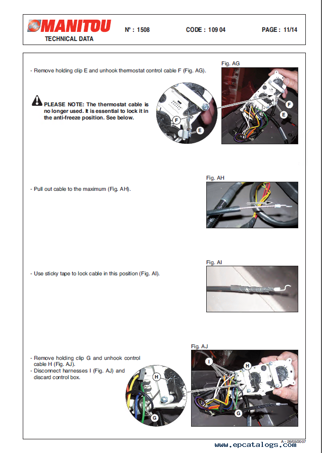 Manitou MLT 731 Turbo Series B E2 Set of PDF Manuals