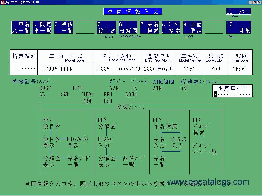 Daihatsu Japan 09-2005