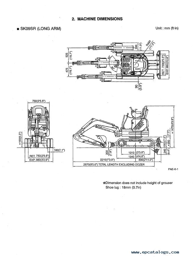 kobelco sk09sr hydraulic excavator shop manual pdf