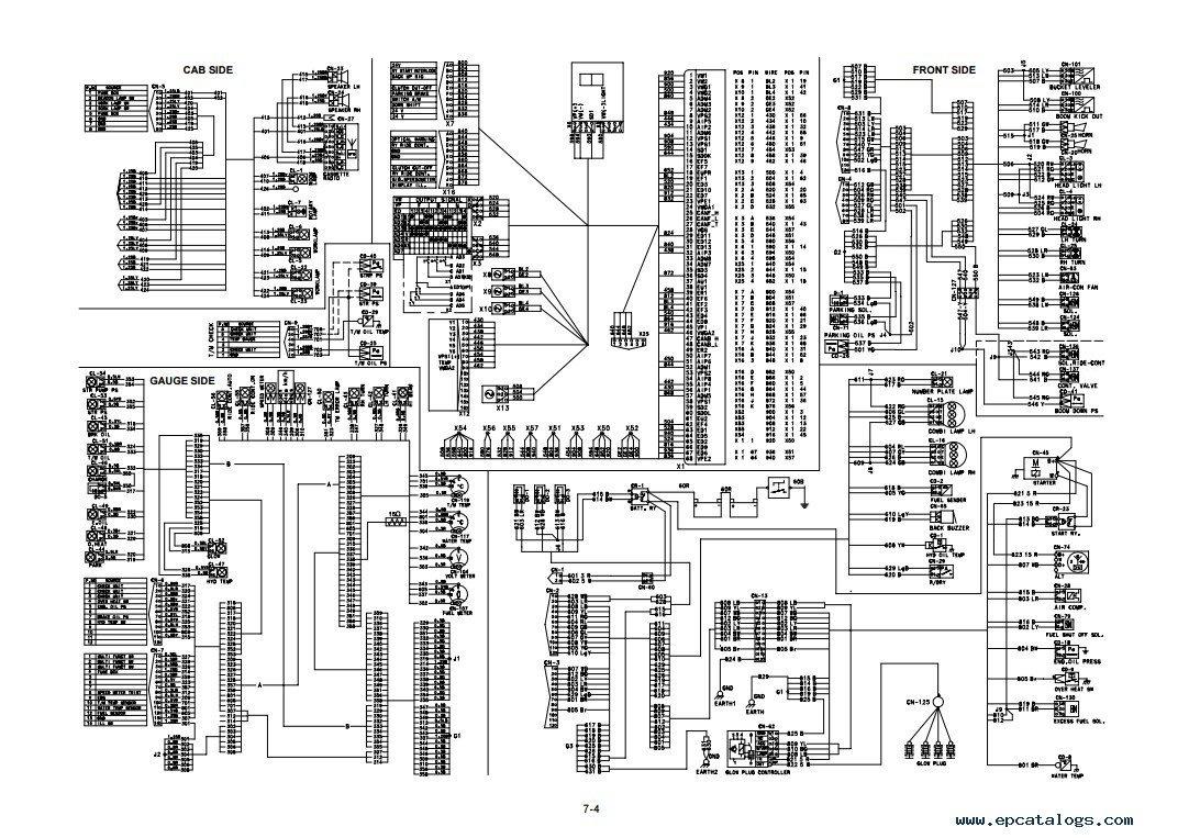 repair manual Hyundai HL730TM-3 Wheel Loader Service Manual - 4
