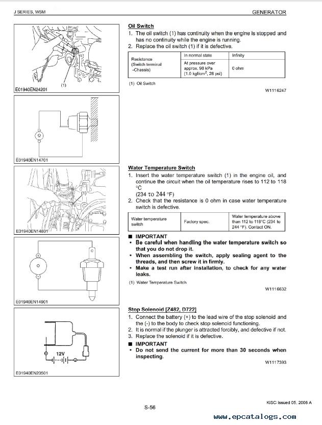 Kubota Sel Generator Wiring Diagram Pdf Kubota Tractor Pdf – Kubota 7800 Wiring Diagram Pdf