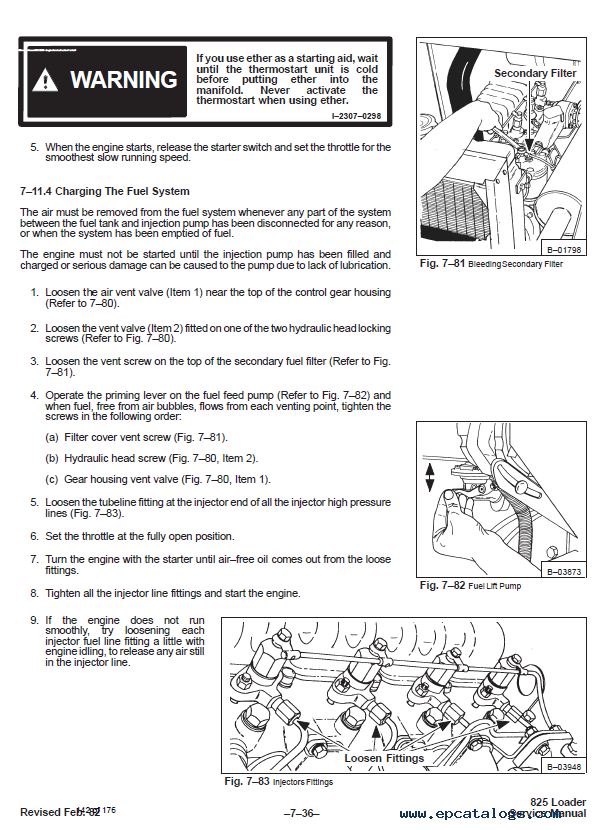 Bobcat 825 Skid Steer Loader Service Manual PDF