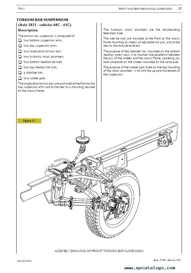 iveco daily repair manual mechanical electrical electronic pdf