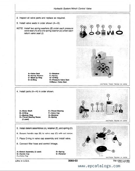 john deere 550 dozer operators manual