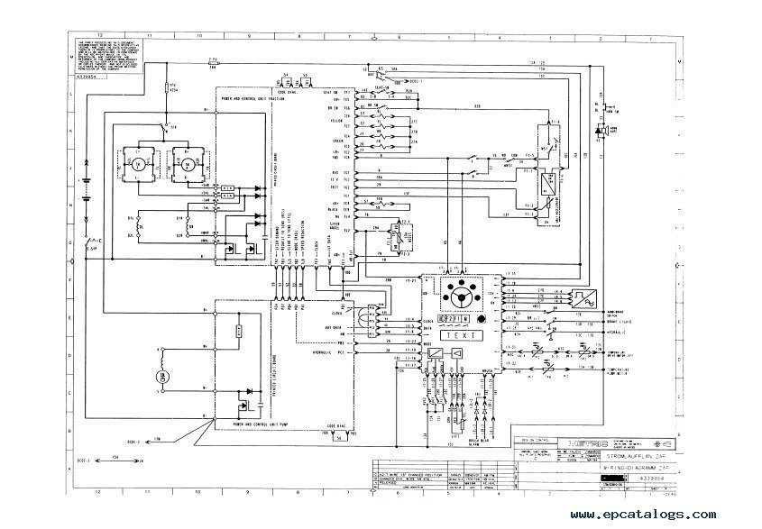 Clark Service Manual Ctm Cem 10 20 on traction wiring diagram