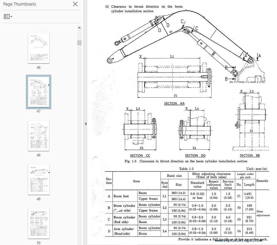 Kobelco Sk70sr Hydraulic Excavator Repair Manual Pdf Download
