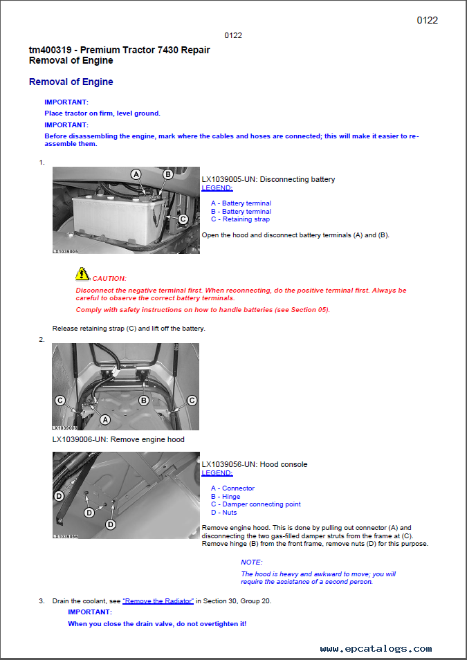 john deere tractor service manuals