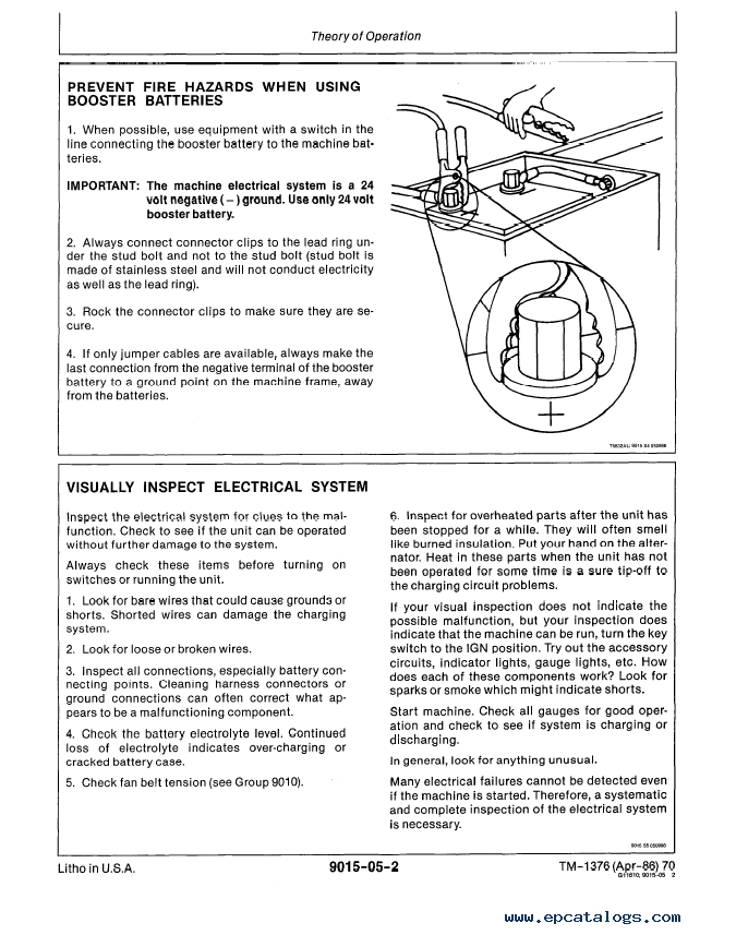 john deere 70 excavator repair operation and tests tm1376 enlarge repair manual john deere 70 excavator repair operation and tests tm1376 technical