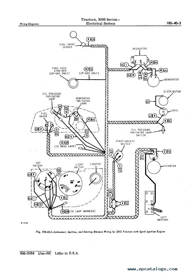Deere 950 Wiring Diagram additionally AG OU12401 270 19 08APR00 1 in addition PD6k 11320 furthermore 3020 John Deere 24 Volt Starter Wiring likewise John Deere Backhoe Fan Belt Diagram. on john deere 6300 alternator