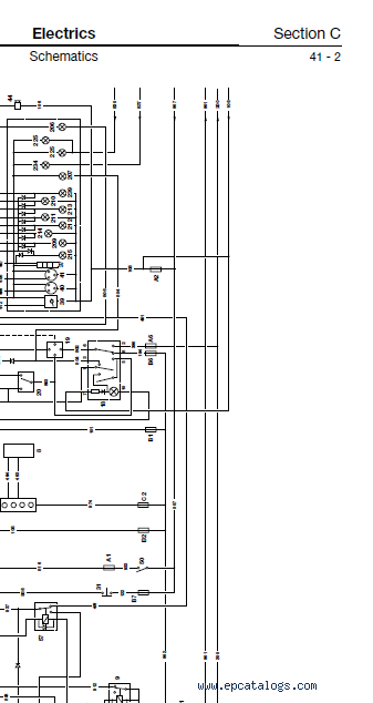 Jcb Loadall 520 525 50 S Service Manual Pdf, Jcb Wiring Diagram