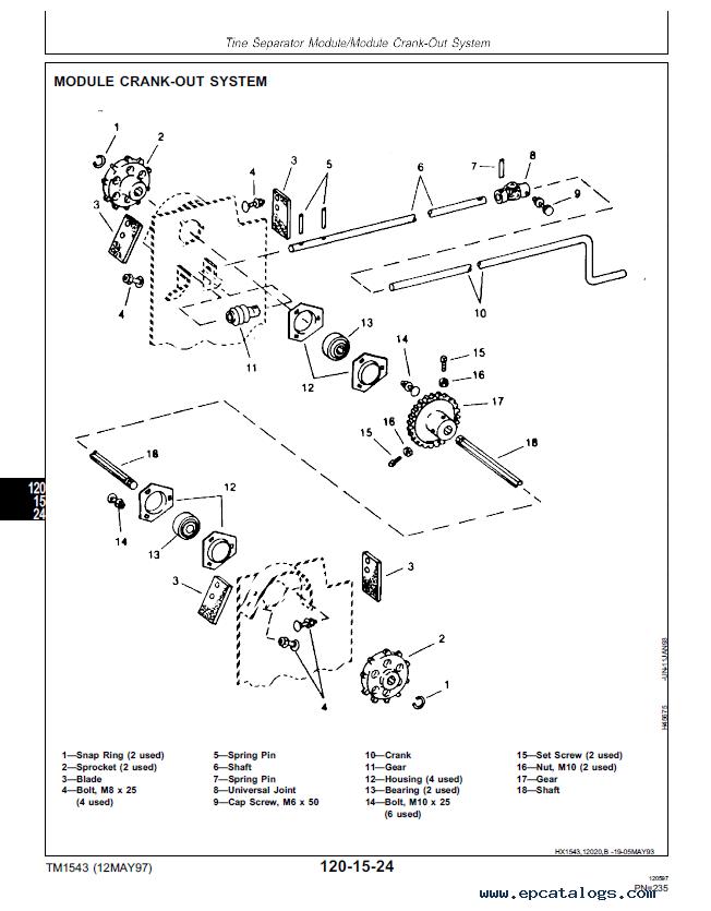 "John Deere CTS Rice Combine Repair, Operation and Tests TM1543 Technical on john deere electrical diagrams, john deere starters diagrams, john deere power beyond diagram, john deere tractor wiring, john deere 212 diagram, john deere 345 diagram, john deere cylinder head, john deere 310e backhoe problems, john deere fuse box diagram, john deere gt235 diagram, john deere fuel system diagram, john deere voltage regulator wiring, john deere repair diagrams, john deere chassis, john deere rear end diagrams, john deere sabre mower belt diagram, john deere riding mower diagram, john deere 42"" deck diagrams, john deere 3020 diagram, john deere fuel gauge wiring,"