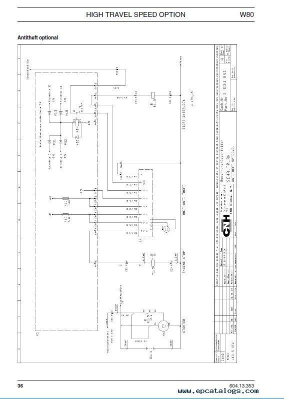 download fiat kobelco w80 high travel speed technical pdf. Black Bedroom Furniture Sets. Home Design Ideas