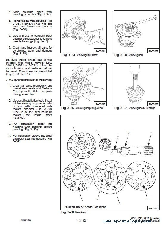 Owners Manual For A Bobcat 632