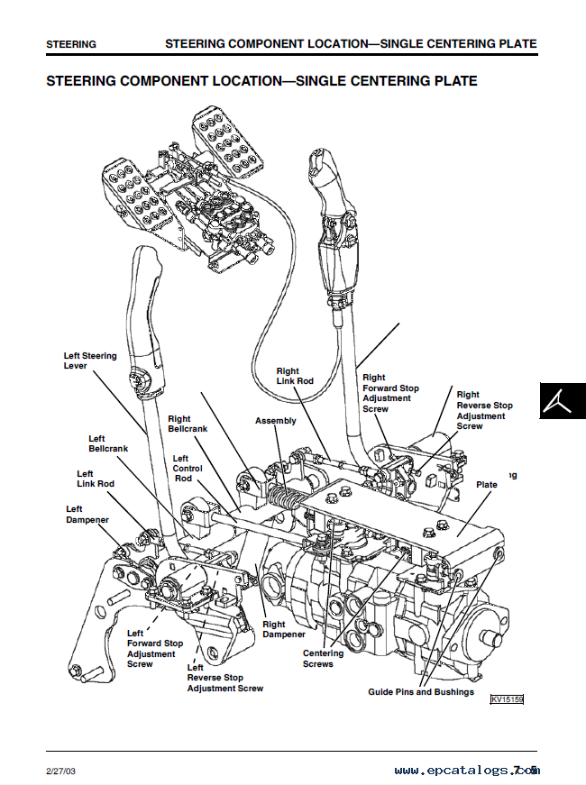 john deere 240 250 skid steer loaders technical manual tm 1747 pdf john deere 240, 250 skid steer loaders tm1747 technical manual pdf 3126 Caterpillar Wiring Diagrams at mifinder.co