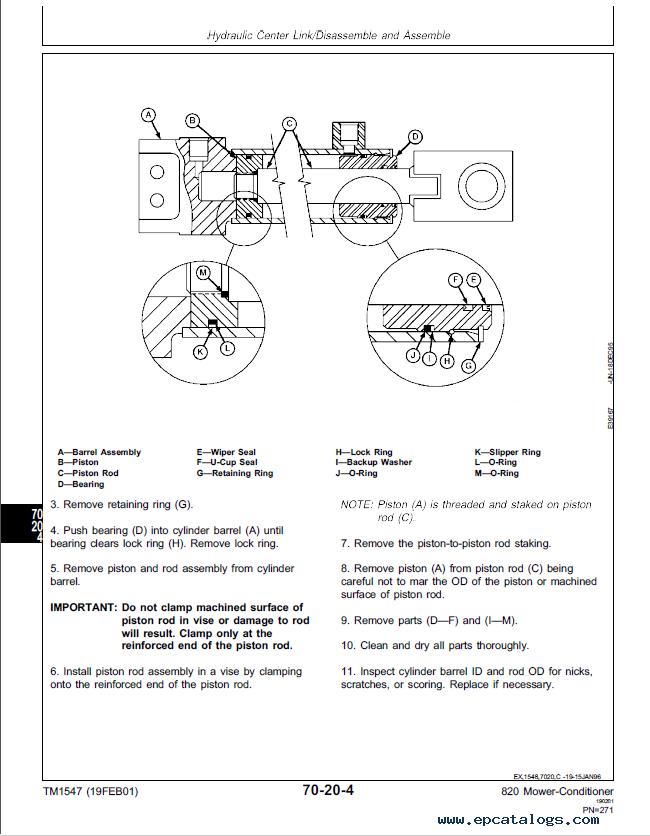 New Holland Haybine Parts Diagram