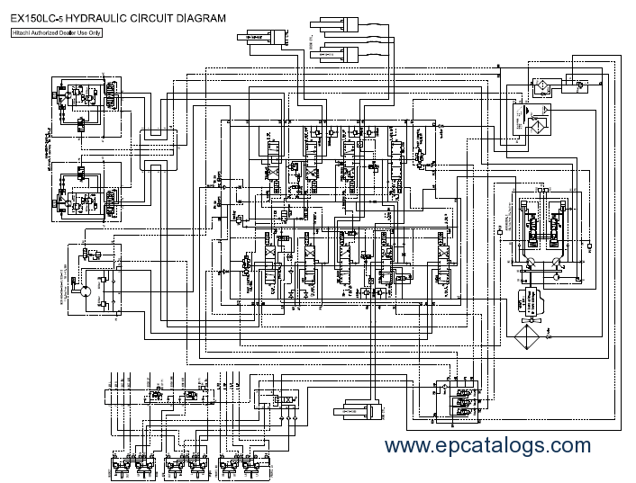 wiring diagram for john deere the wiring diagram hitachi ex150lc 5 160lc 5 excavator workshop service manual wiring diagram