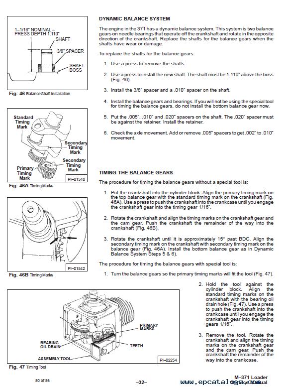 371 bobcat Manual