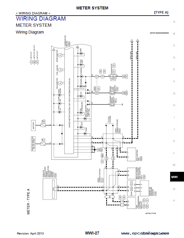 2014 Nissan Note Fuse Box Diagram