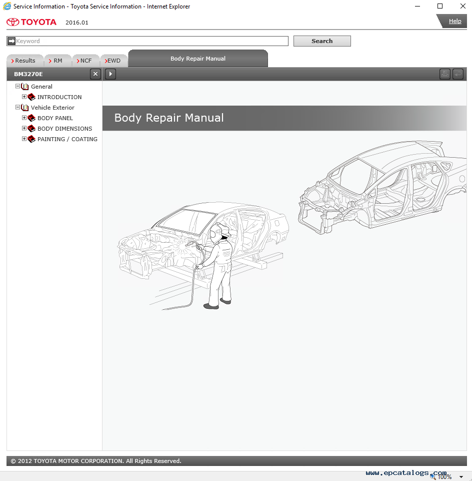 Toyota Car Fortuner Full Service Information  U0026 Wiring Diagram