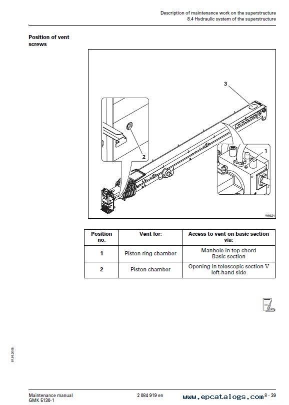 Download Grove Truck Crane GMK 5130-1 Maintenance PDF