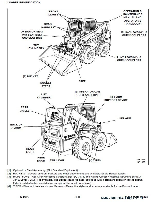 Bobcat s650 skid steer loader service manual pdf for Bobcat blower motor replacement