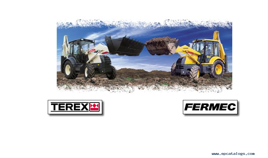 terex americas fermec loader backhoes parts catalogues rh epcatalogs com Terex TX 760 2001 Terex 760 Backhoe