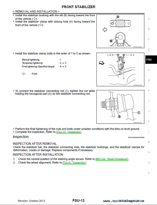 nissan sentra b17 service manual
