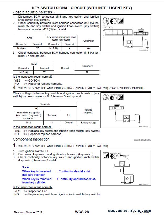 nissan armada model ta60 series 2013 service manual pdf rh epcatalogs com 2008 nissan armada service manual 2006 nissan armada service manual