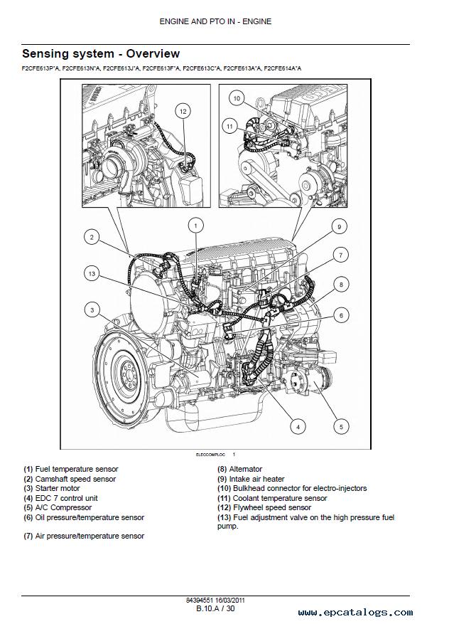 IT Shop Continental Engines TMDT 27 Engine Service Manual Tractors ...