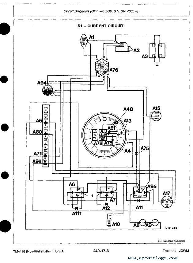 John Deere 2355 Wiring Diagram | Wiring Schematic Diagram ... on