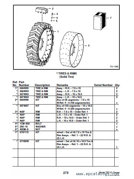 bobcat ct440 ct445 ct450 pact tractor parts manual