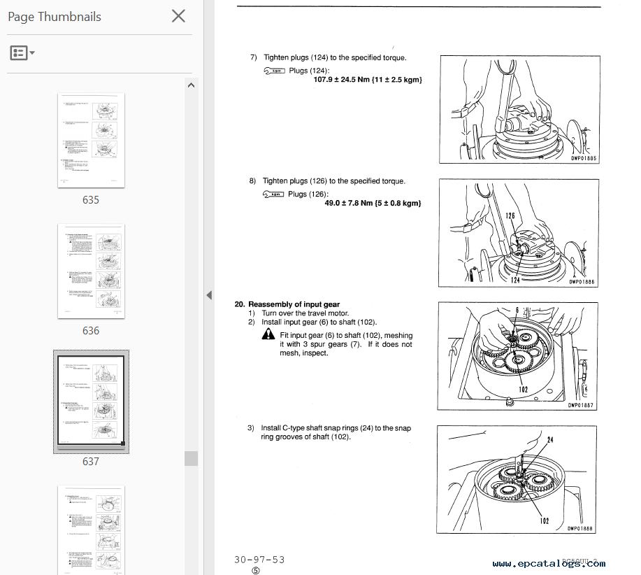 Komatsu Pc 50 Uu Manual