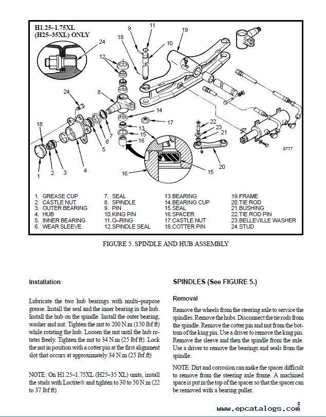 Hyster Challenger H40j  H50j  H60js Service Manual Pdf Download
