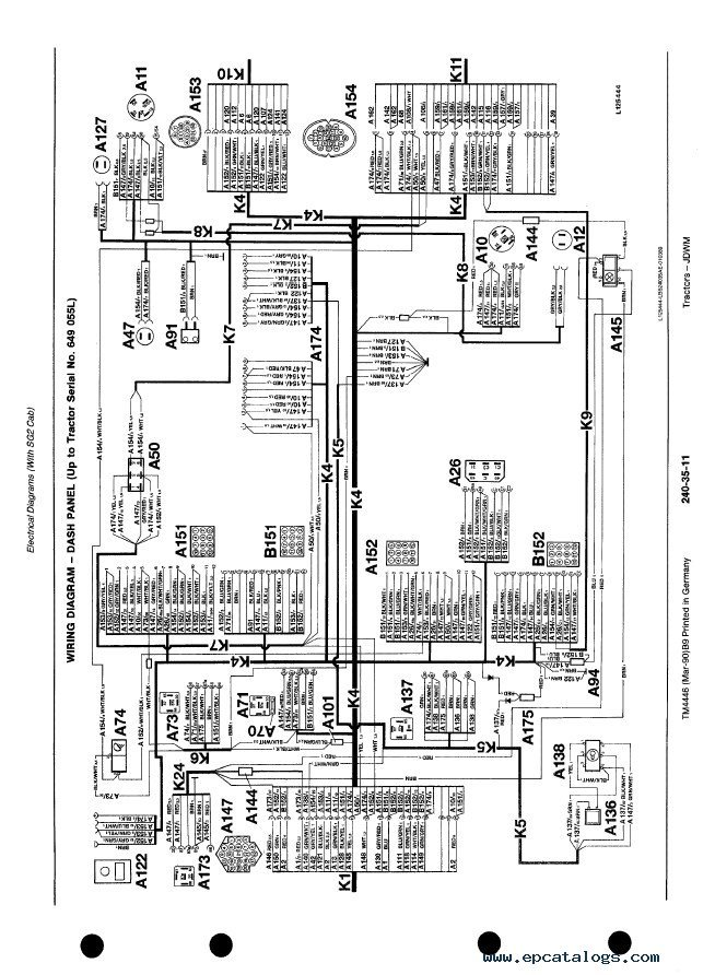 john deere l120 wiring harness diagram solidfonts john deere wiring diagram for a 4110 tractor