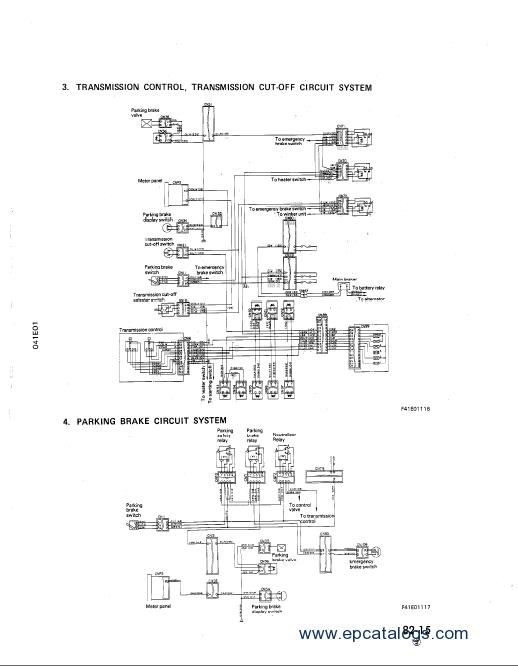 d21p 6 komatsu dozer wiring diagram