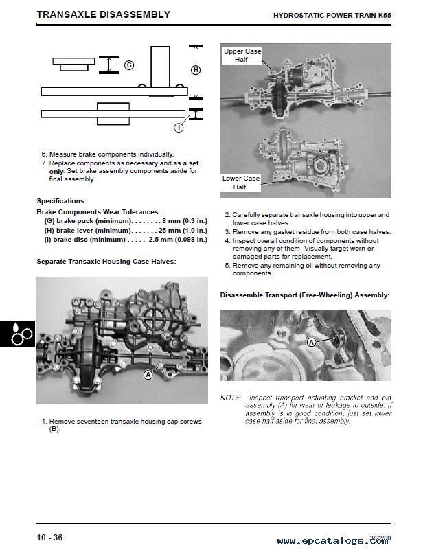 John Deere Sabre Lawn Garden Tractor TM1769 Repair Manual PDF