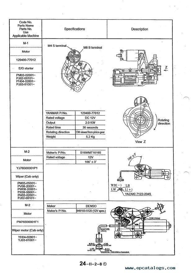 free td8e service manuals