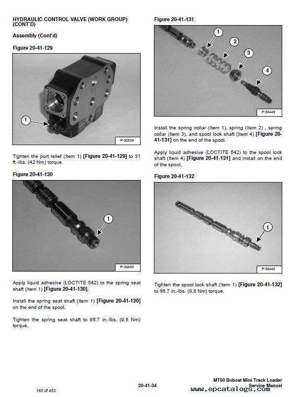 Bobcat Mt50 Mini Track Loader Service Manual Pdf