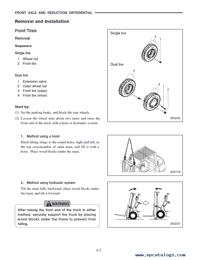 Caterpillar Forklift Parts Manual Pdf