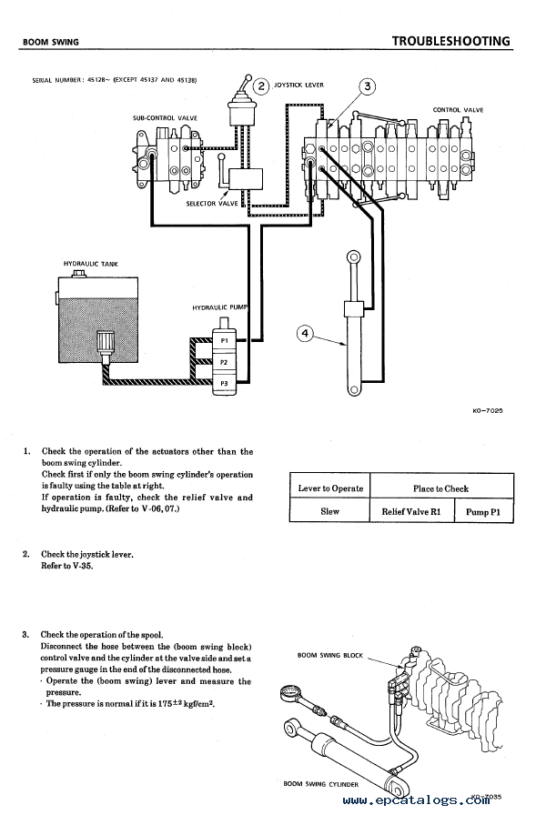 takeuchi tb45 compact excavator parts manual download