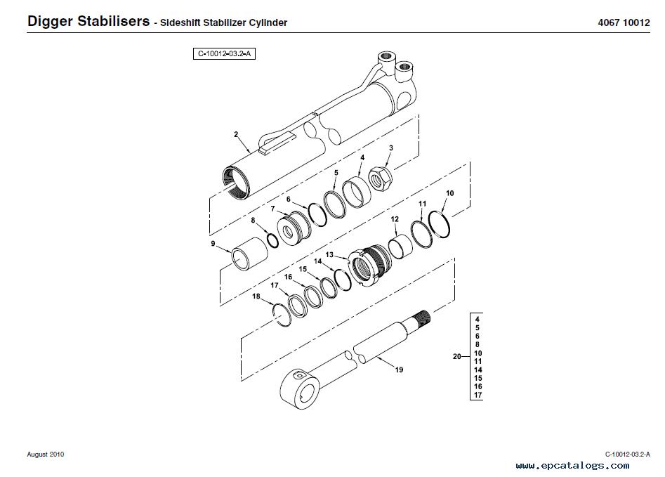 Ford Backhoe Controls Diagram