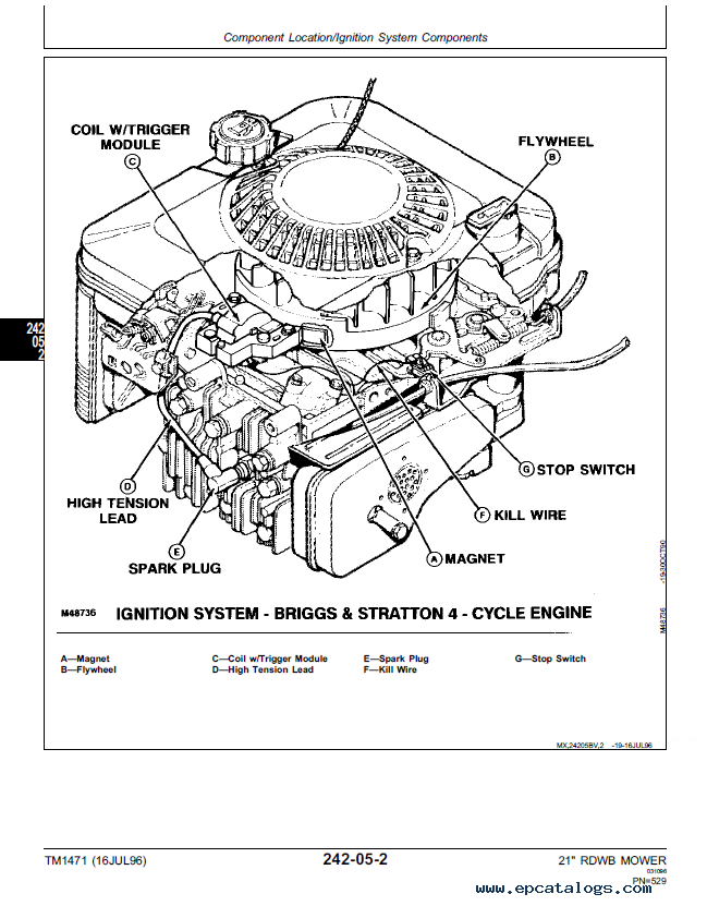 john deere 14pz parts  john  tractor engine and wiring diagram