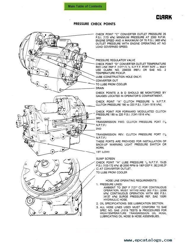 Upright Lift parts manual