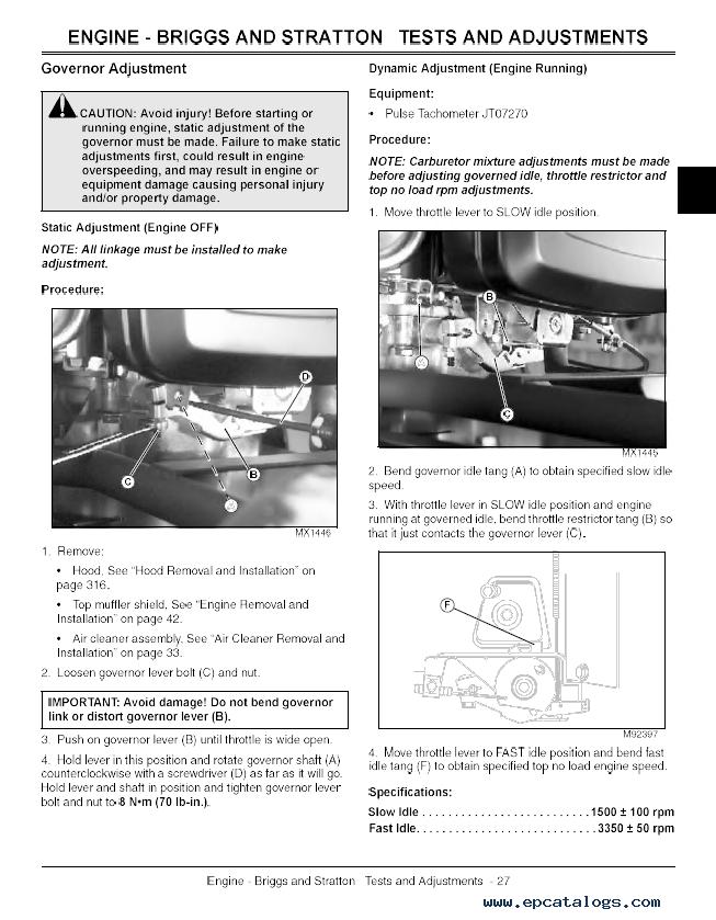 John Deere Sst Sst Sst Spin Steer Tractor Tm Technical Manual Pdf on John Deere Lawn Tractor Technical Manual