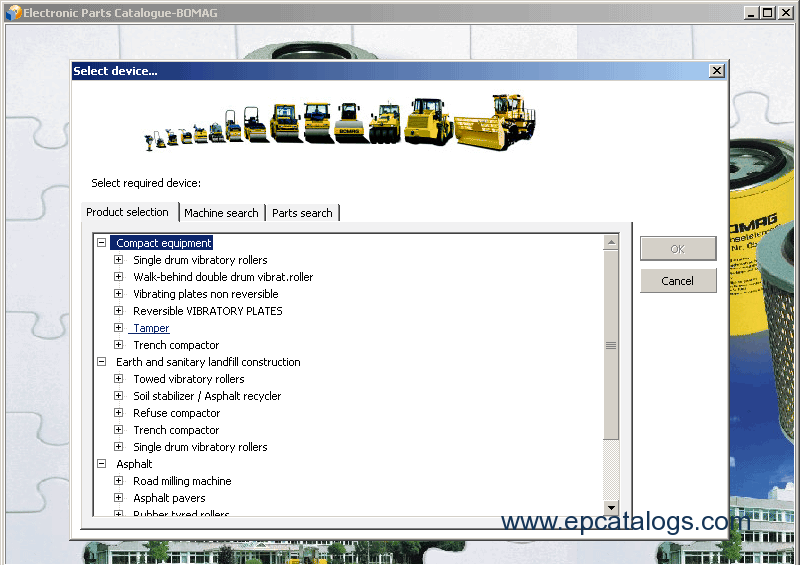 Bomag Heavy & Bomag Light Machines 2012 Spare Parts DownloadEPCATALOGS